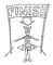 End of the procession symbol
